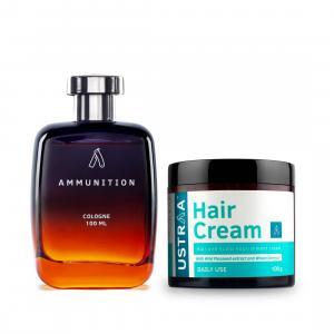 Cologne Ammunition & Hair Cream Daily Use