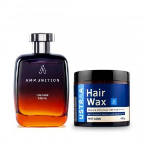 Cologne Ammunition & Hair Wax- Wet look