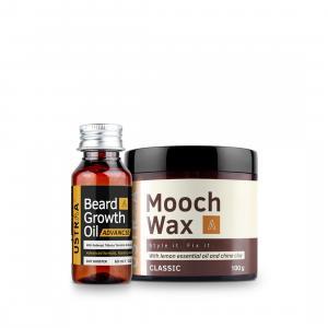 Beard Growth Oil- Advanced & Beard and Mooch Styling Wax