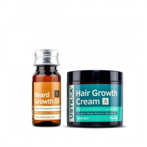 Hair Growth Cream & Beard Growth Oil