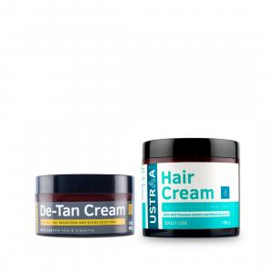 De-Tan Cream and Hair Cream daily Use