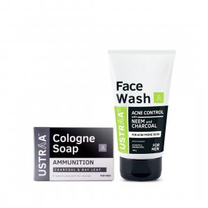 Face Wash Acne Control and Cologne Soap Ammunition
