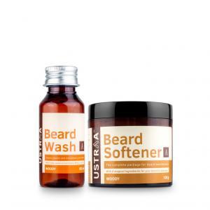 Beard Softener & Beard Wash (Woody)