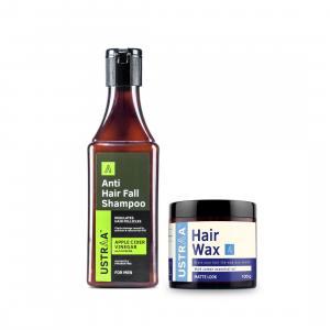 Anti Hair Fall Shampoo with Apple Cider Vinegar & Hair Wax Matte Look