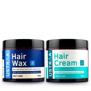 Hair Cream - Daily Use & Hair Wax - Wet Look