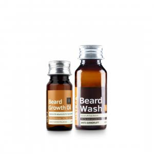 Beard Growth Oil & Beard Wash Anti dandruff