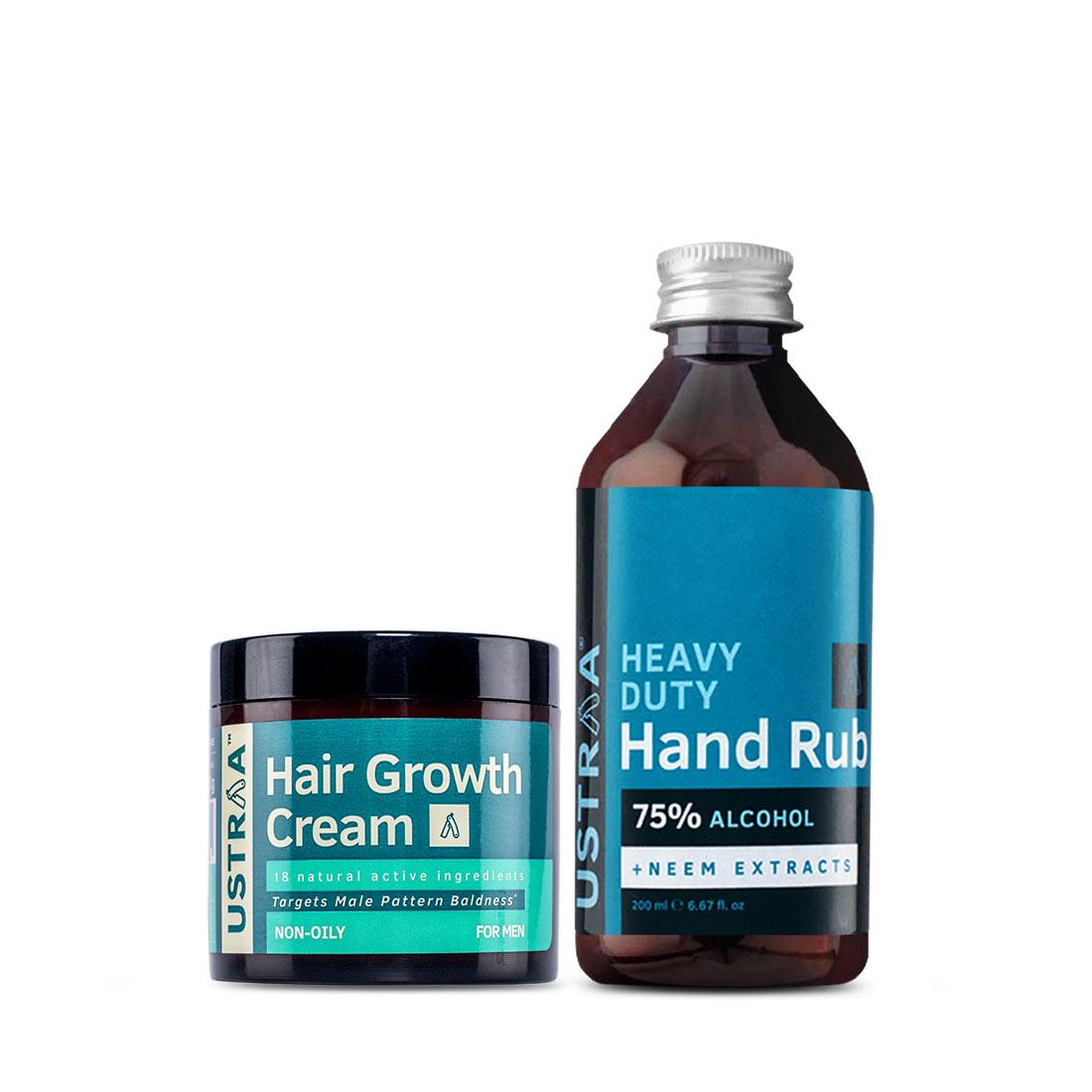 Hair Growth Cream and Hand Rub - 200 ml