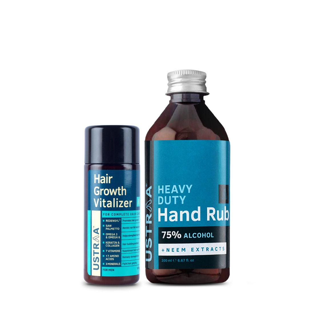 Hair Growth Vitalizer and Hand Rub - 200 ml