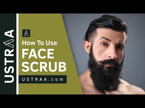 How To Use Face Scrub | De-Tans, Evens Skin Tone | USTRAA