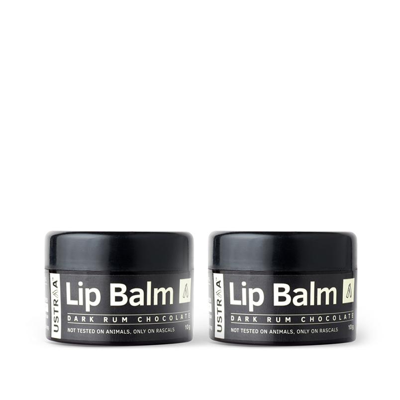 Ustraa Lip Balm for men - Set of 2 (10gm)