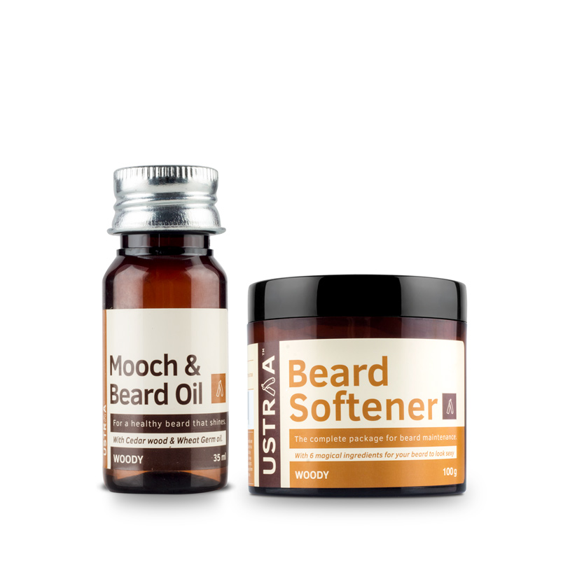Beard Oil (Woody) & Beard Softener