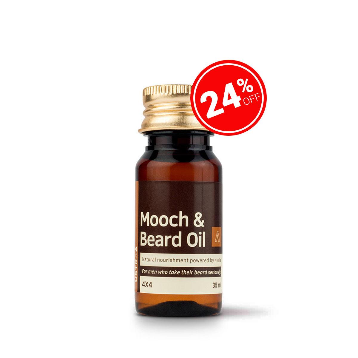 Beard & Mooch Oil 4x4