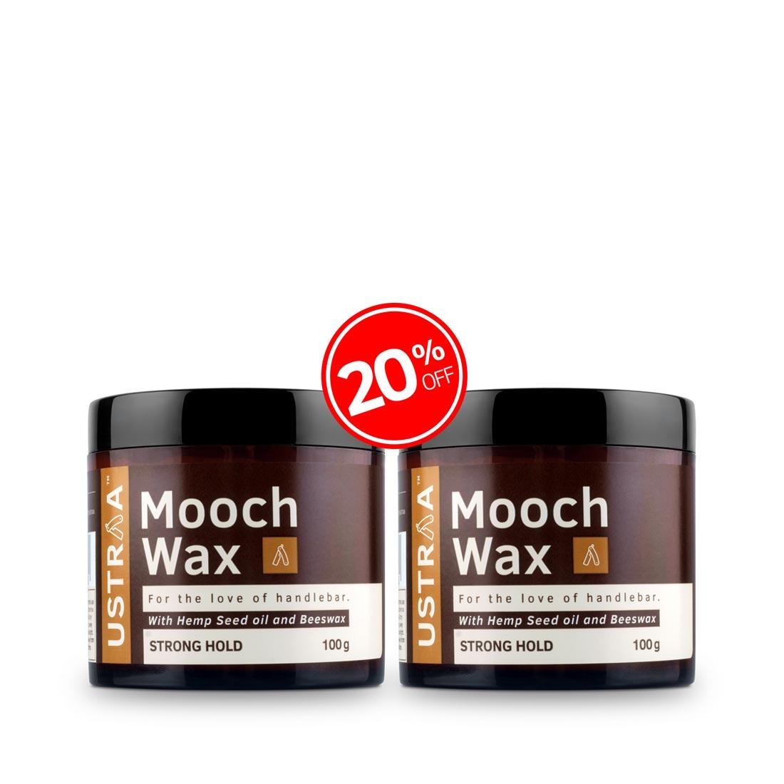 Beard & Mooch Wax Strong Hold - 100g- Set of 2
