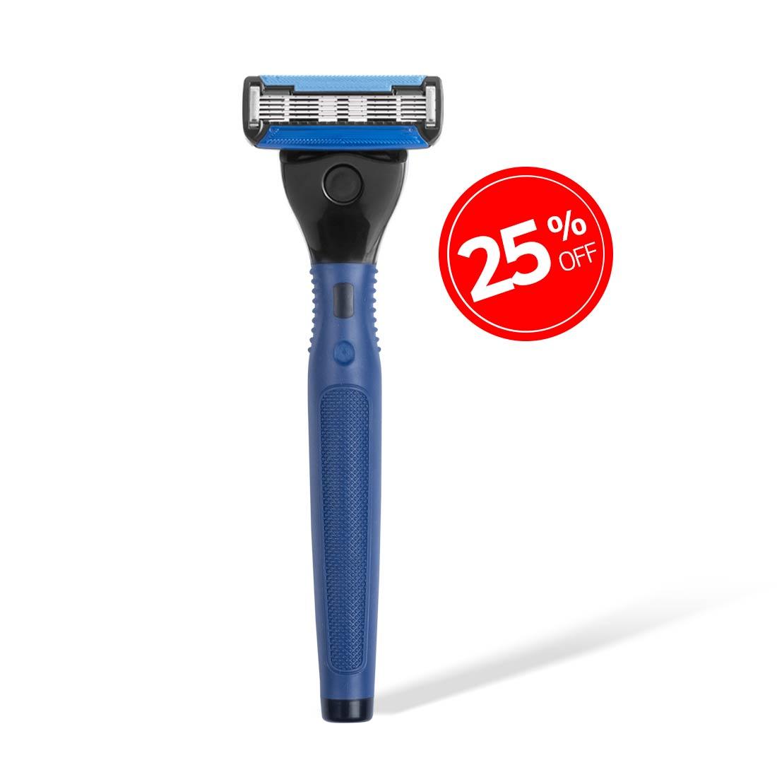Ustraa 5 Blade Razor - Blue