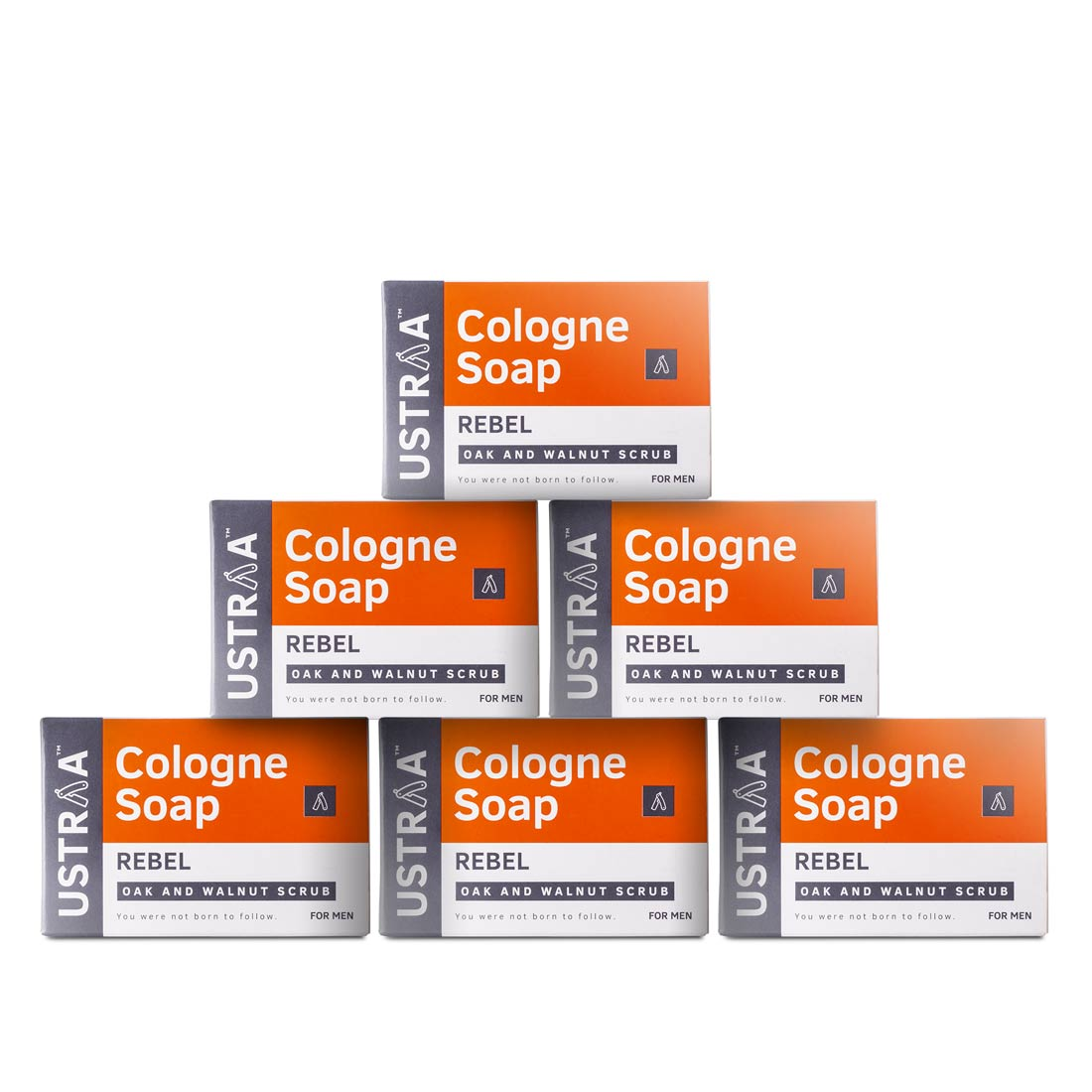 Rebel Cologne Soap - Pack of 6