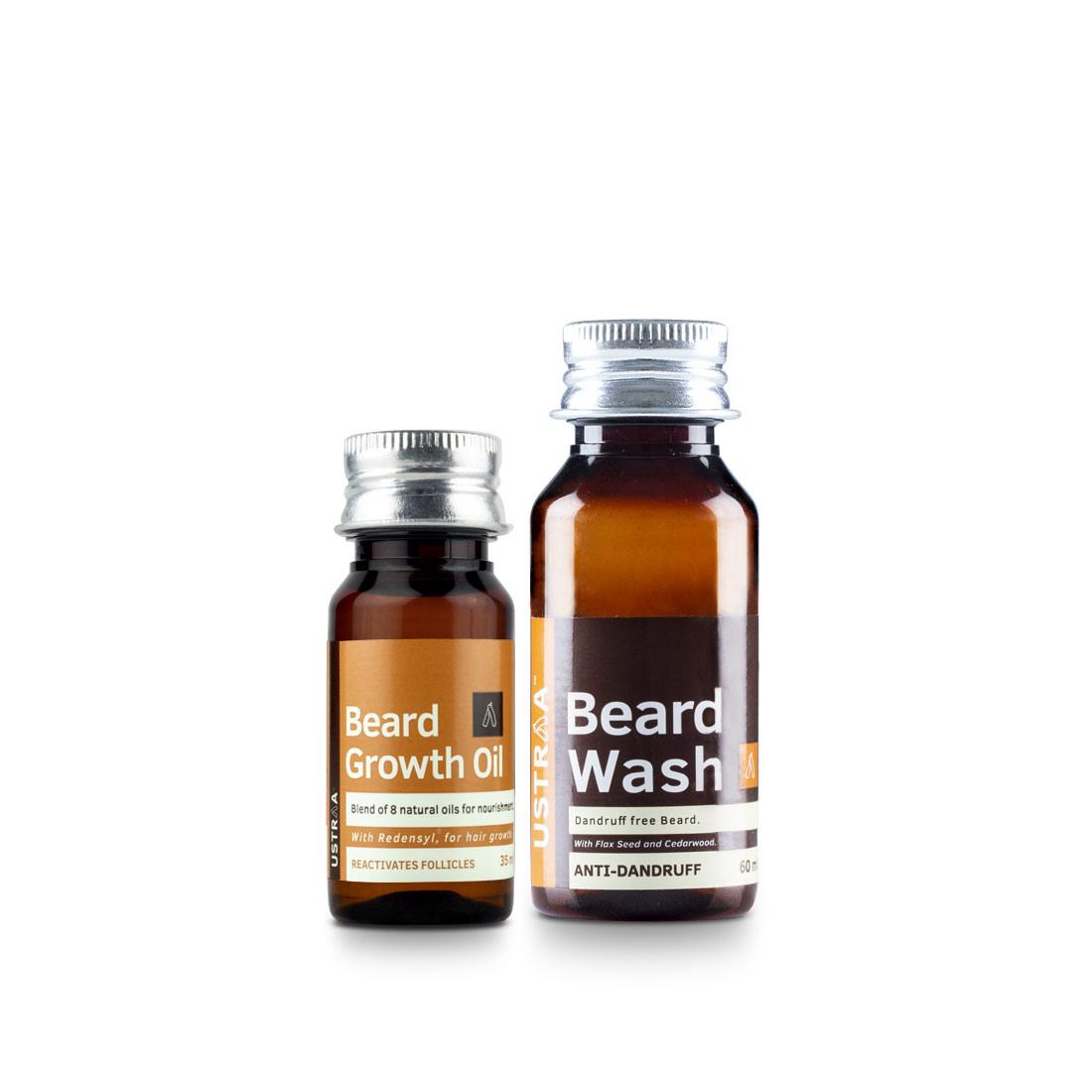 Beard Growth Oil & Beard Wash Anti dandruff