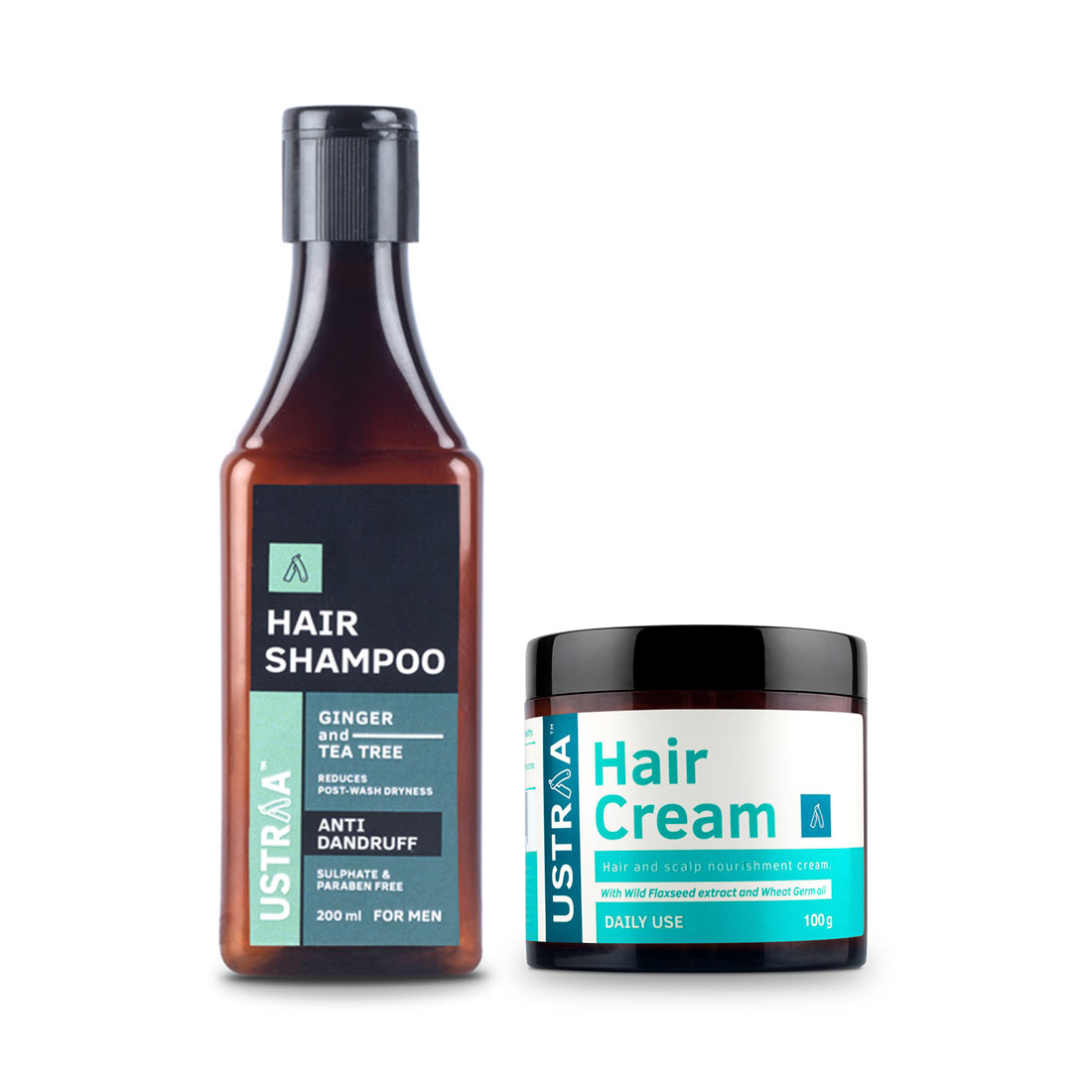 Anti Dandruff Hair Shampoo & Daily Use Hair Cream