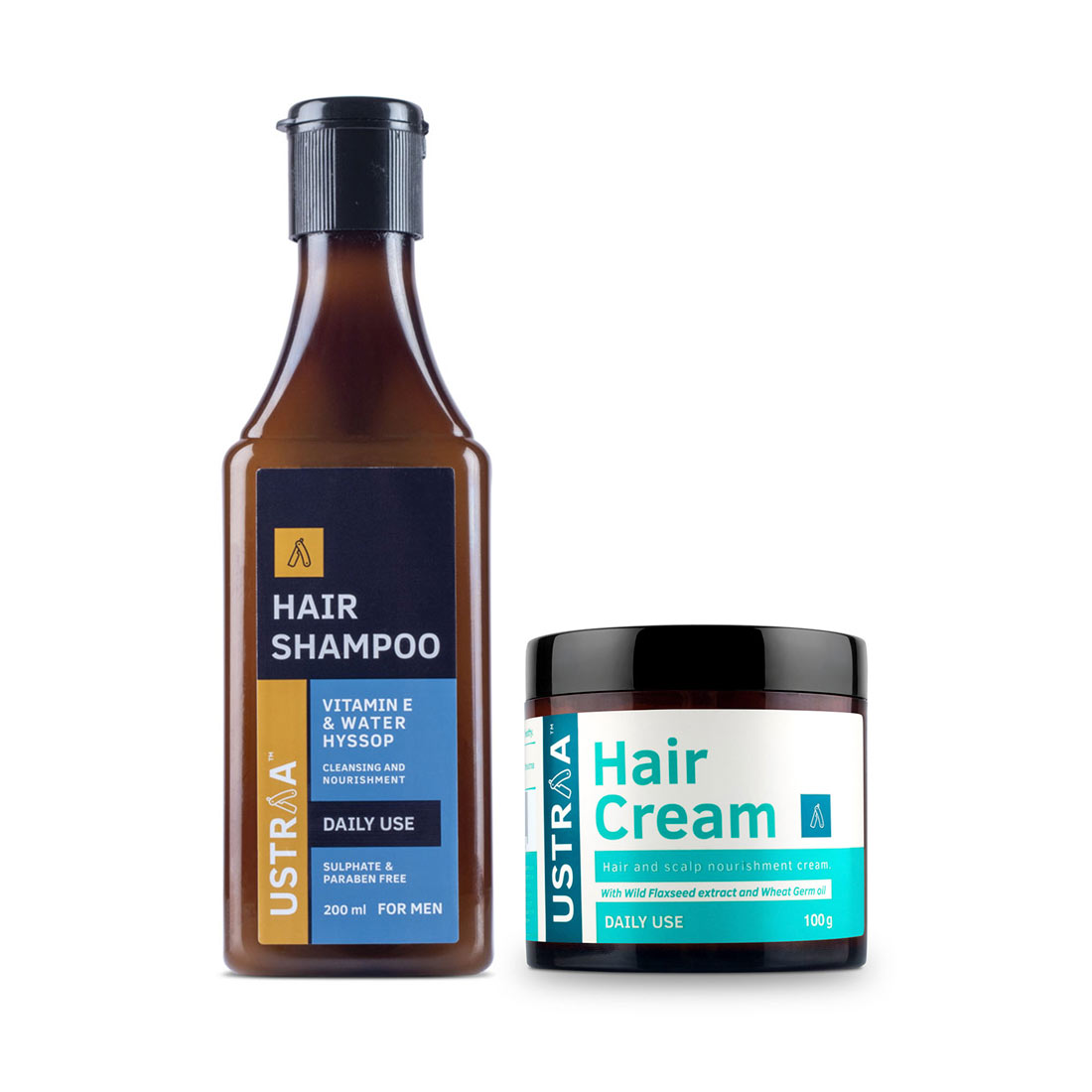 Daily Use Hair Shampoo & Daily Use Hair Cream