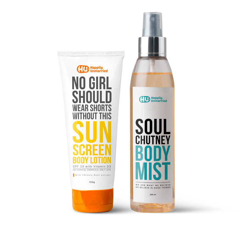 Sunscreen Lotion & Body Mist - Soul Chutney
