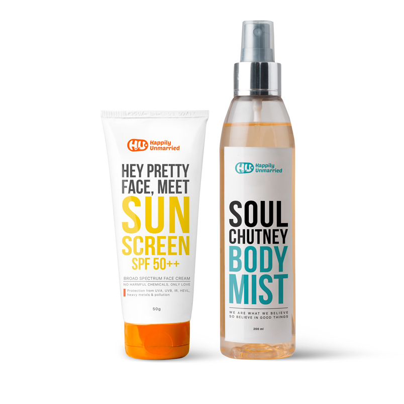 Sunscreen & Body Mist - Soul Chutney