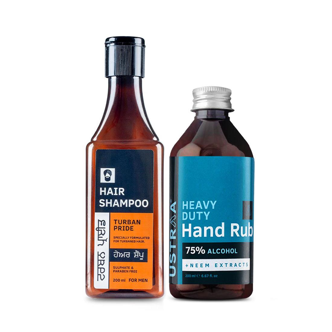 Turban Pride Shampoo and Hand Rub - 200 ml