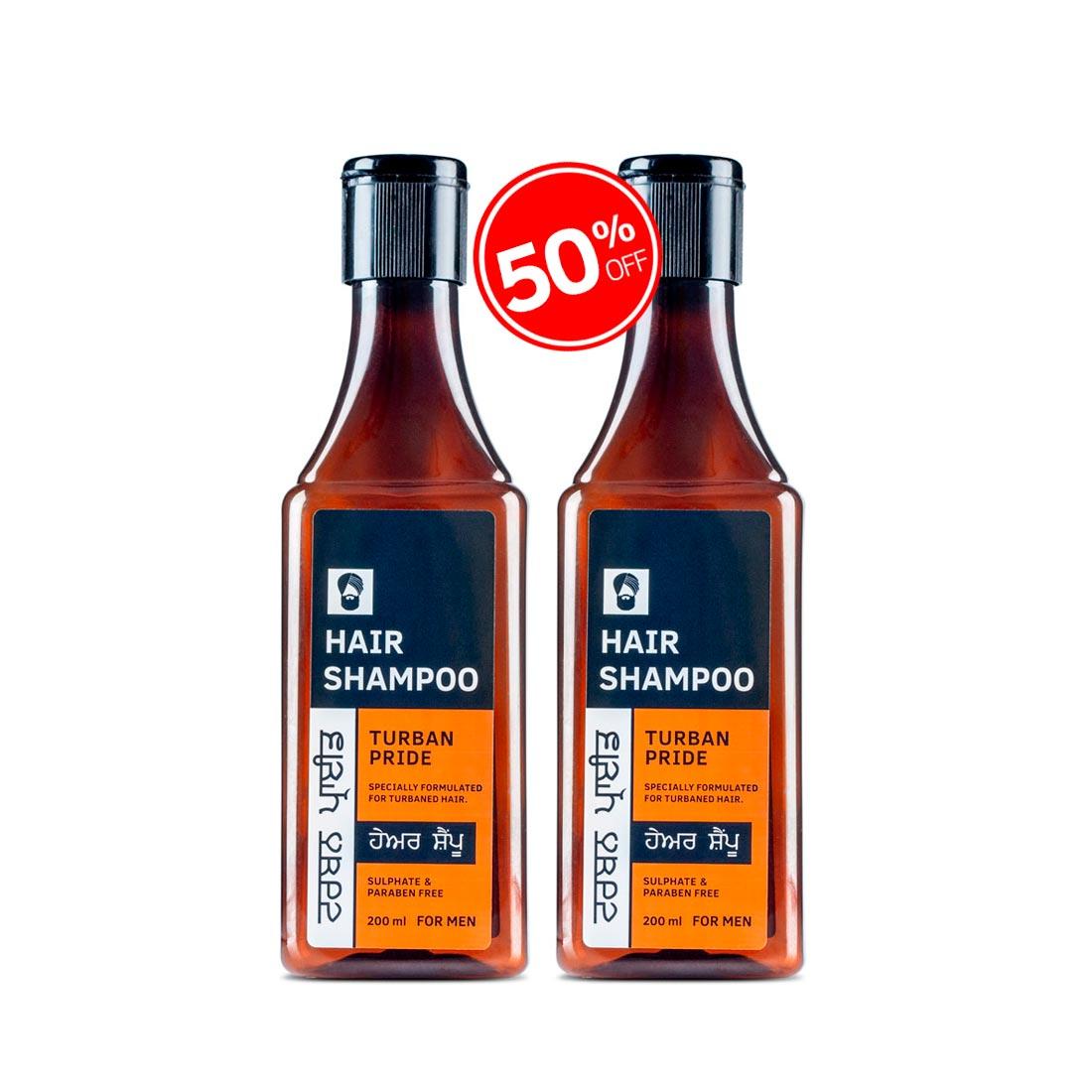 Turban Pride - Shampoo 200ml- Set of 2