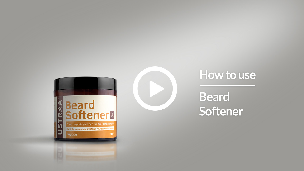 USTRAA Beard Softener | Soft Beards Are Hard To Forget