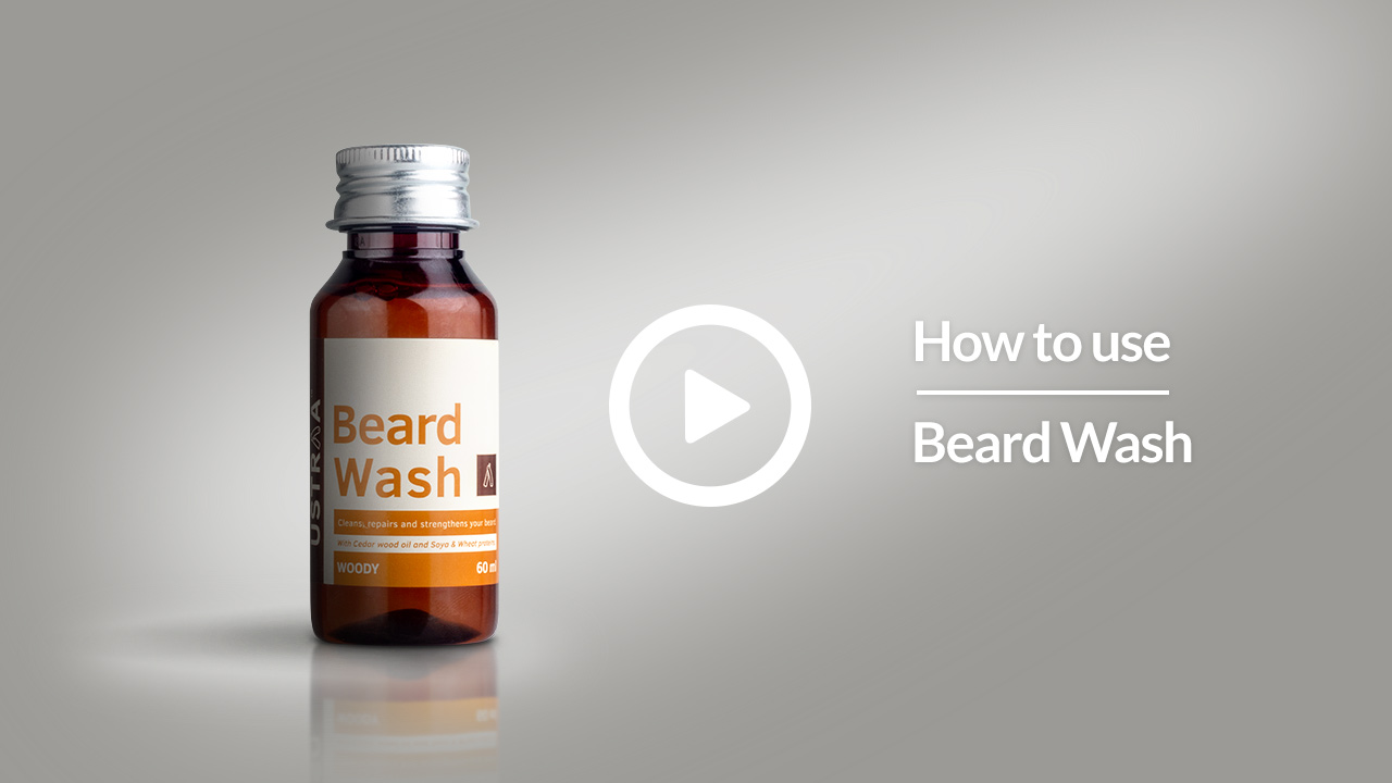 How To Use Beard Wash | USTRAA