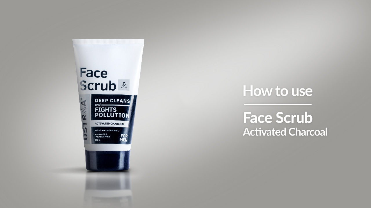 How To Use Activated Charcoal Face Scrub | Evens Skin Tone