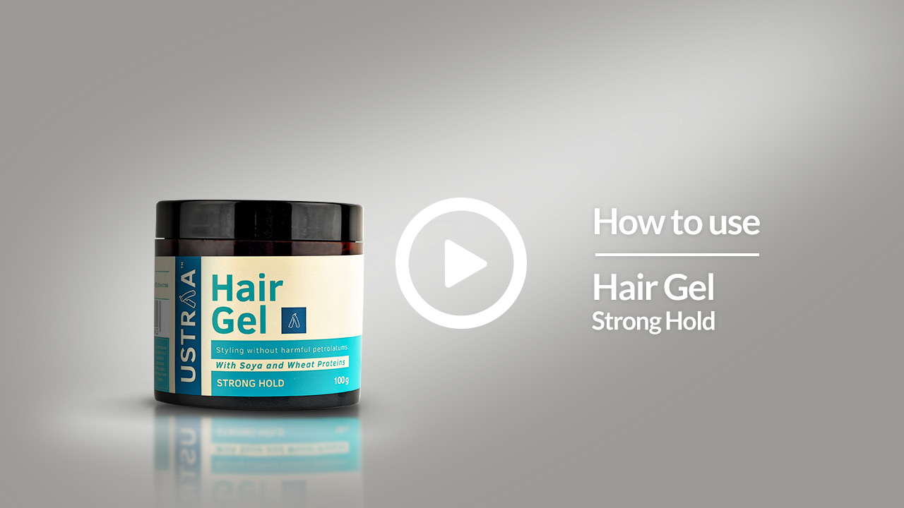 How To Use Hair Gel Strong Hold | USTRAA