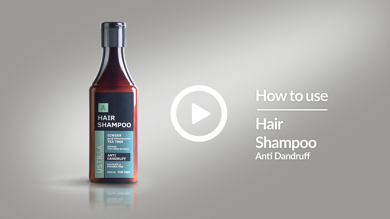 How To Get Rid Of Dandruff | Anti Dandruff Hair Shampoo For Men | USTRAA