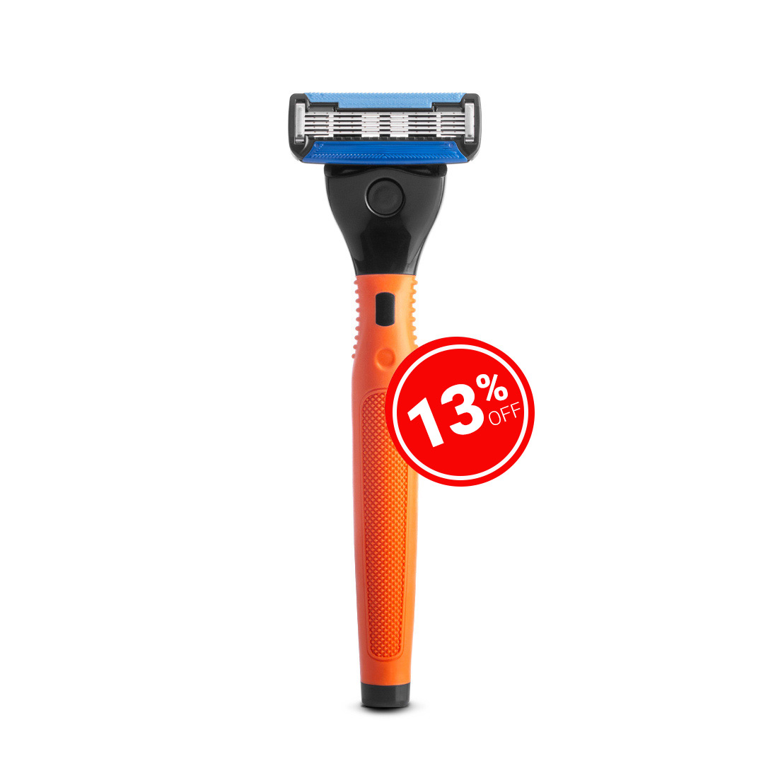 Ustraa 5 Blade Razor - Orange
