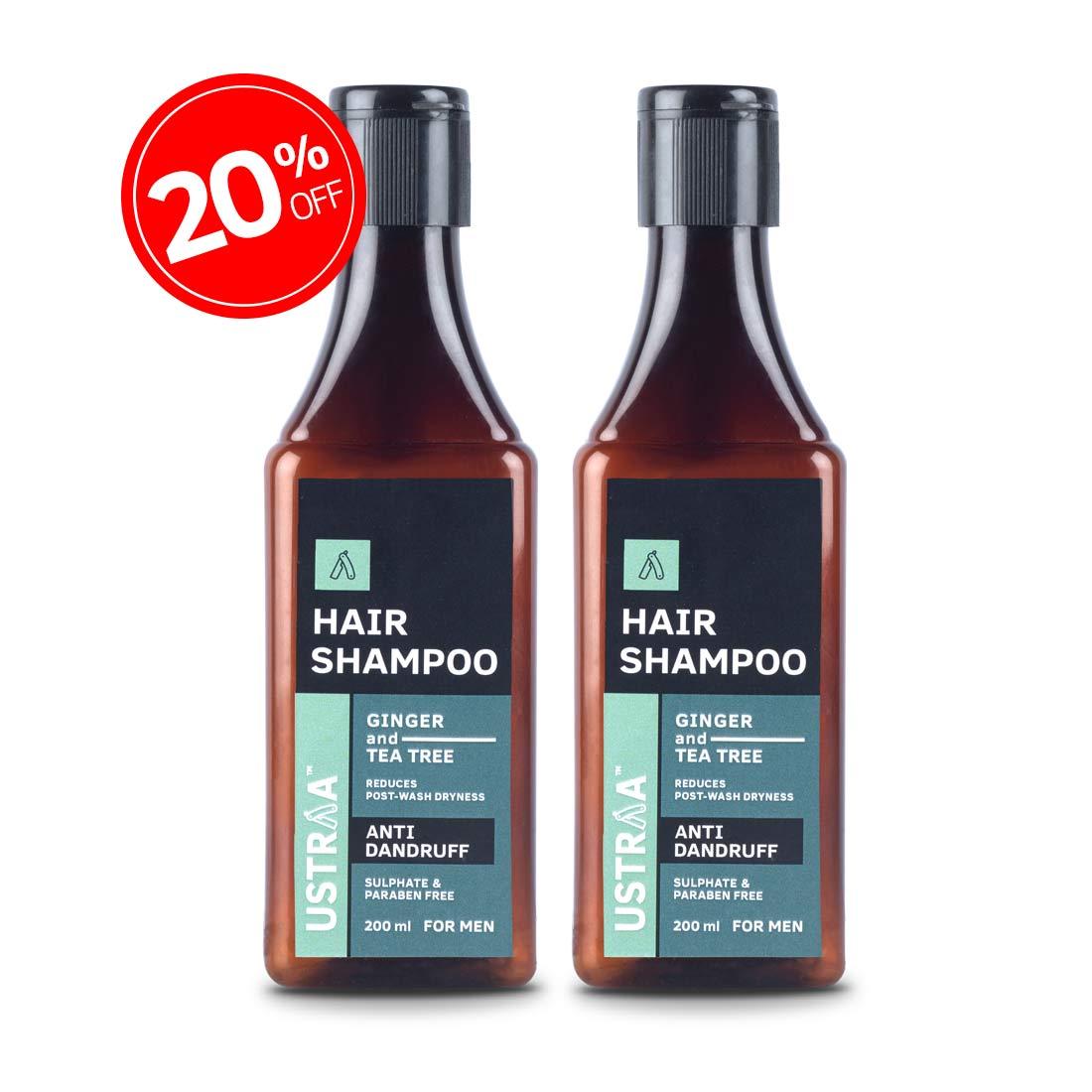 Anti Dandruff Hair Shampoo - 200 ml- Set of 2