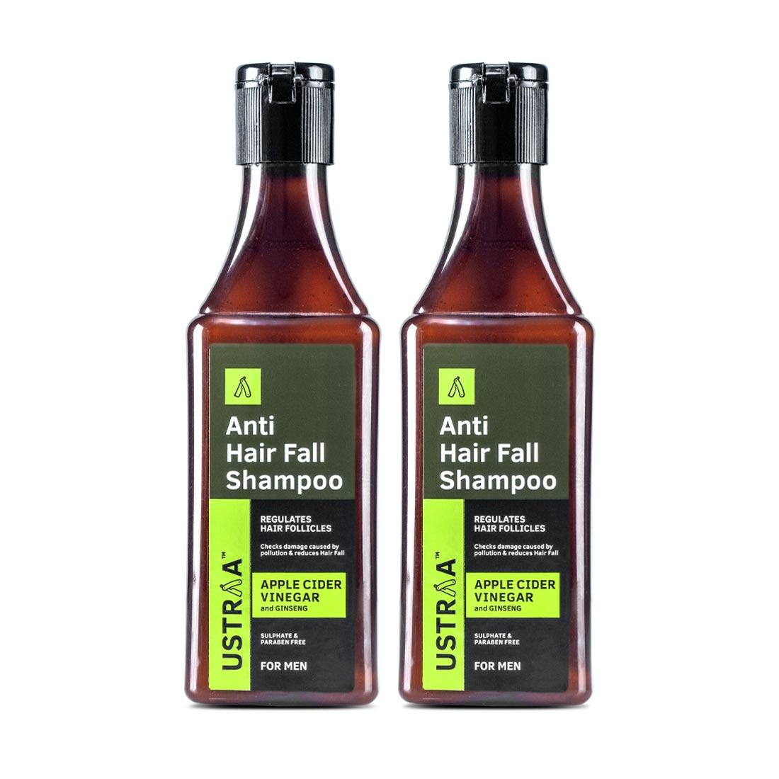 Anti Hair Fall Shampoo with Apple Cider Vinegar - Set of 2