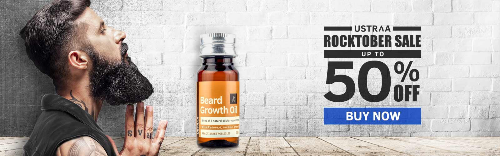 Beard growth oil upto 50% off